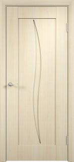 """Межкомнатная дверь ПВХ """"Стефани"""", пг, беленный дуб"""