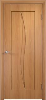 """Межкомнатная дверь ПВХ """"Стефани"""", пг, миланский орех"""