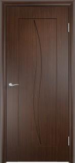 """Межкомнатная дверь ПВХ """"Стефани"""", пг, венге"""