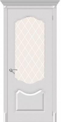 """Межкомнатная дверь """"Стелла"""", по, белый"""