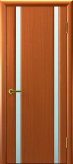 """Межкомнатная дверь """"Техно 2"""", по, темный анегри"""