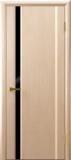 """Межкомнатная дверь """"Техно 1"""", по, беленный дуб"""