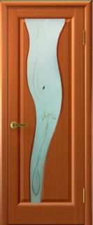 """Межкомнатная дверь """"Торнадо 2"""", по, анегри тон 74"""