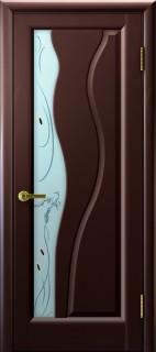 """Межкомнатная дверь """"Торнадо"""", по, венге"""