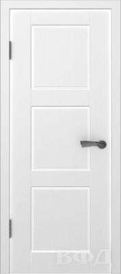 """Межкомнатная дверь """"Трио"""", пг, белый"""