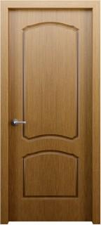 Межкомнатная дверь Твист, пг, карельский орех