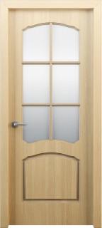 Межкомнатная дверь Твист, по, дуб