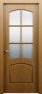 Межкомнатная дверь Твист, по, карельский орех