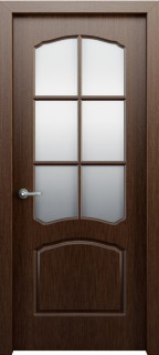 Межкомнатная дверь Твист, по, венге
