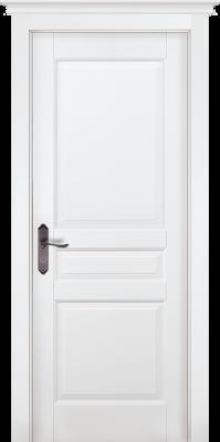 """Межкомнатная дверь """"Валенсия"""" (PIEMONTE), пг, Эмаль Белая (RAL 9010)"""