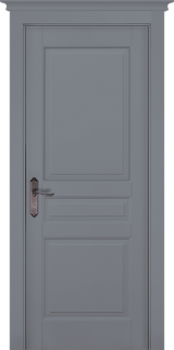 """Межкомнатная дверь """"Валенсия"""" (PIEMONTE), пг, Эмаль Грей"""