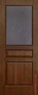 Межкомнатная дверь Валенсия, по, античный орех