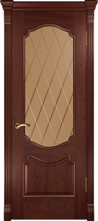 """Межкомнатная дверь """"Венеция"""", по, красное дерево"""