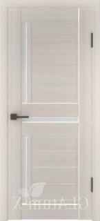 "Межкомнатная дверь ""Атум wc 16"", по, беленый дуб"