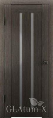 """Межкомнатная дверь """"Атум wc 2"""", по, серый дуб"""