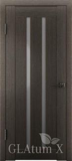 """Межкомнатная дверь """"Атум Х2"""", по, серый дуб"""