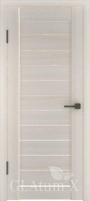 "Межкомнатная дверь ""Атум wc 6"", пг, беленый дуб"