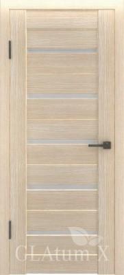 """Межкомнатная дверь """"Атум wc 7"""", по, капучино"""